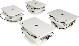 装置組込み型超低床空気ばね式除振ユニットメイン画像